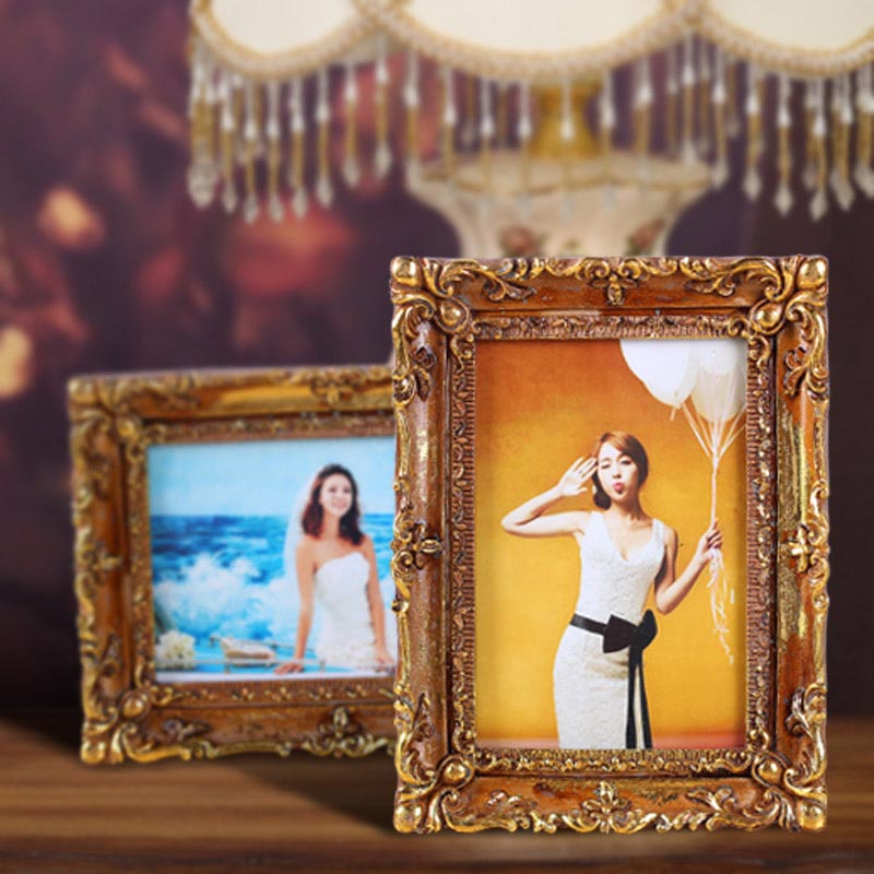 5x7 Gold Picture Frames
