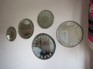 Antique Etched Mirrors