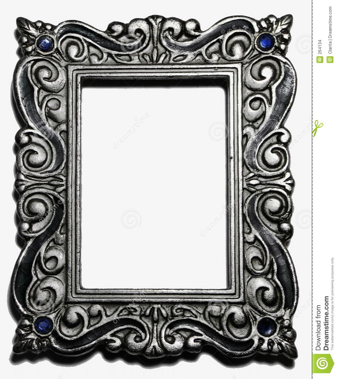 Antique Silver Picture Frames