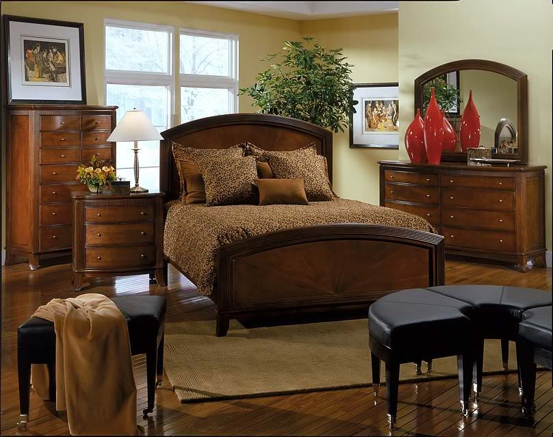 Art Deco Waterfall Bedroom Furniture