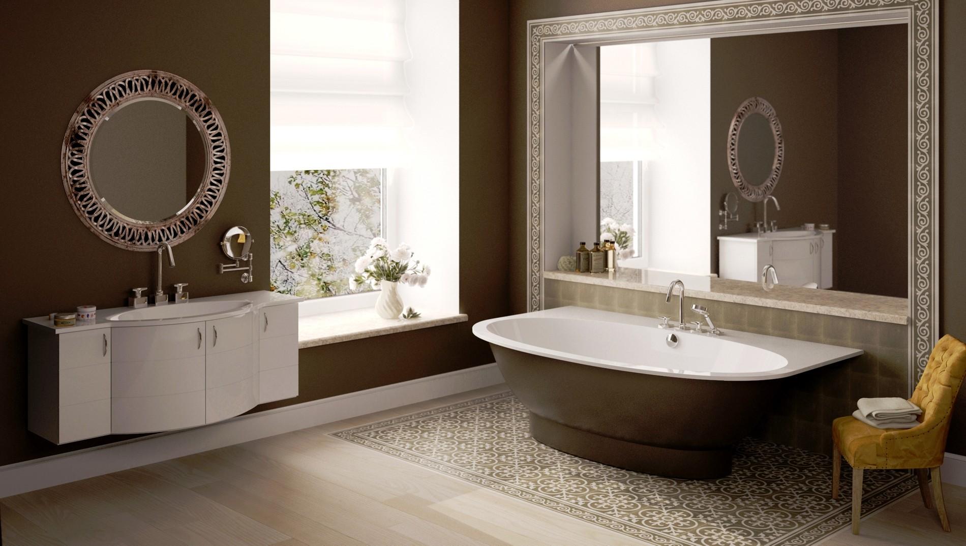 Bathroom Standing Mirrors