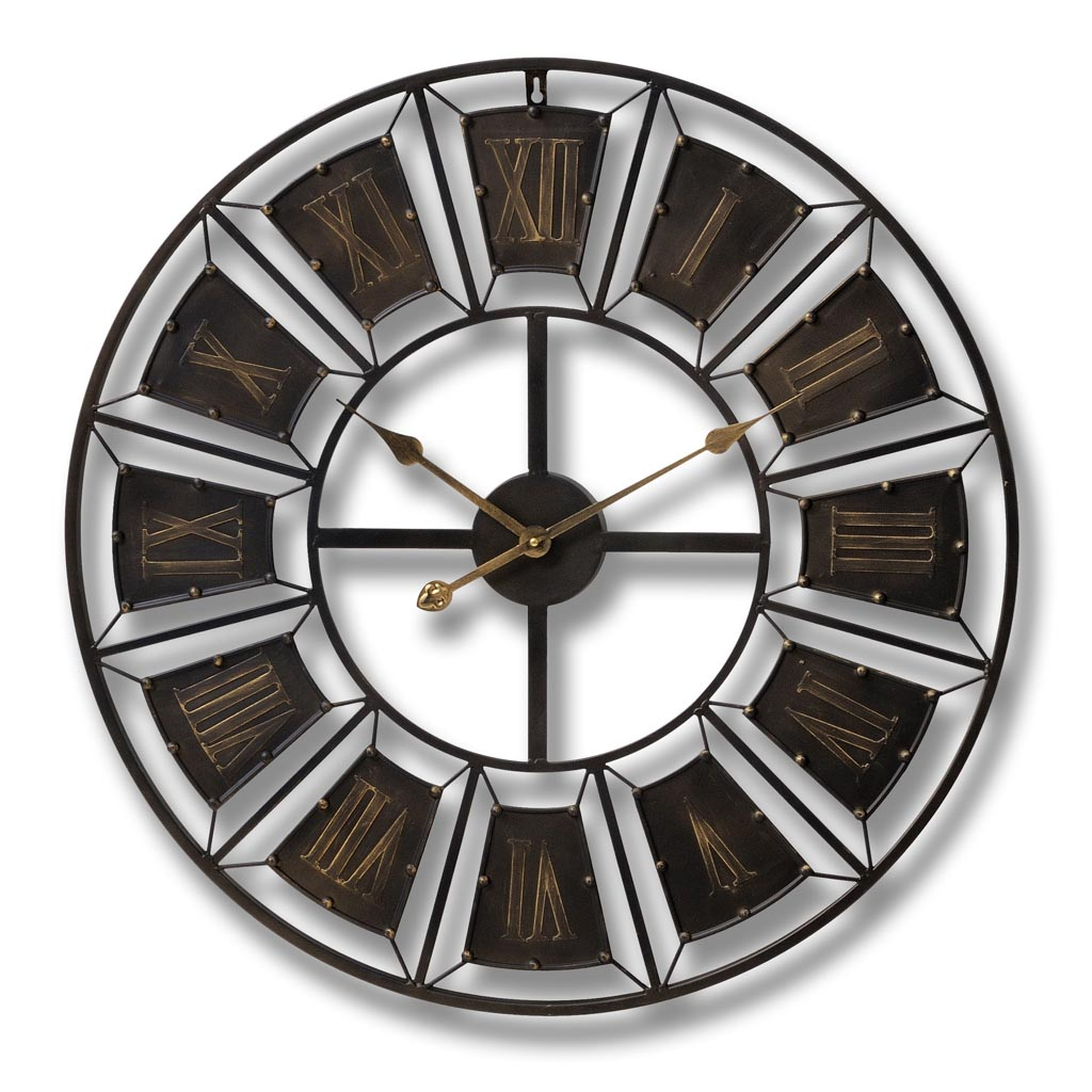 Big Metal Wall Clocks