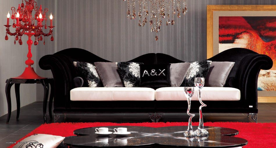 Black Throw Pillows for Sofa