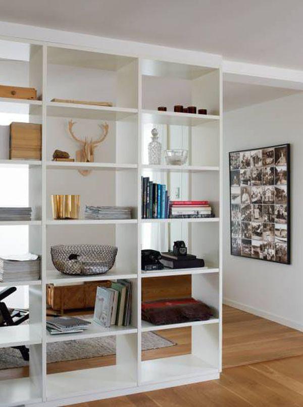 Bookshelf Room Dividers
