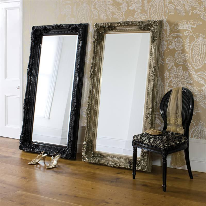 Cheap large floor mirrors best decor things for Large decorative floor mirrors