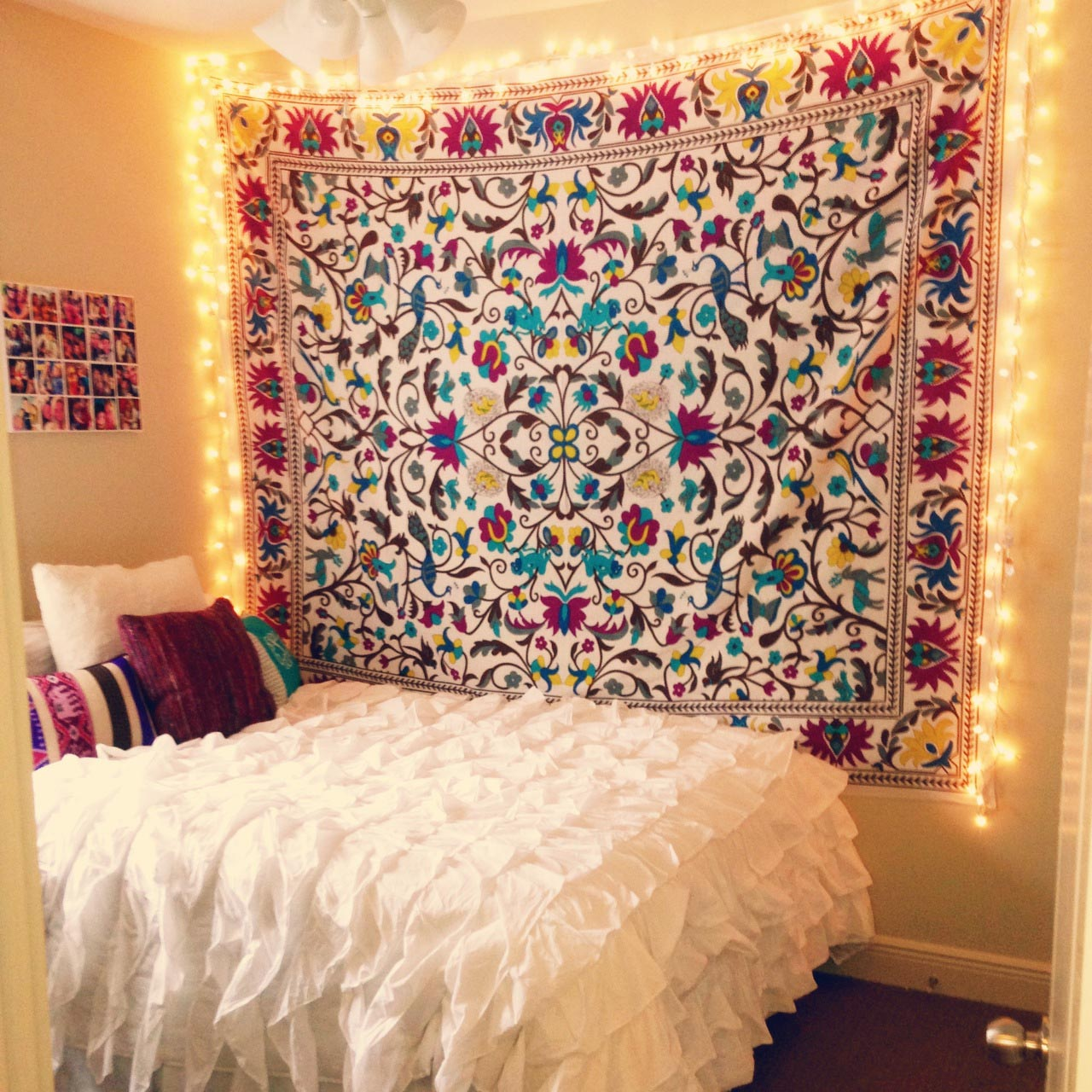 Wall Decoration For College : College wall tapestries best decor things