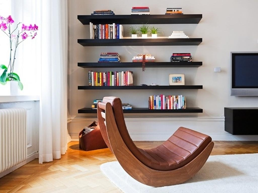 Contemporary Floating Wall Shelves
