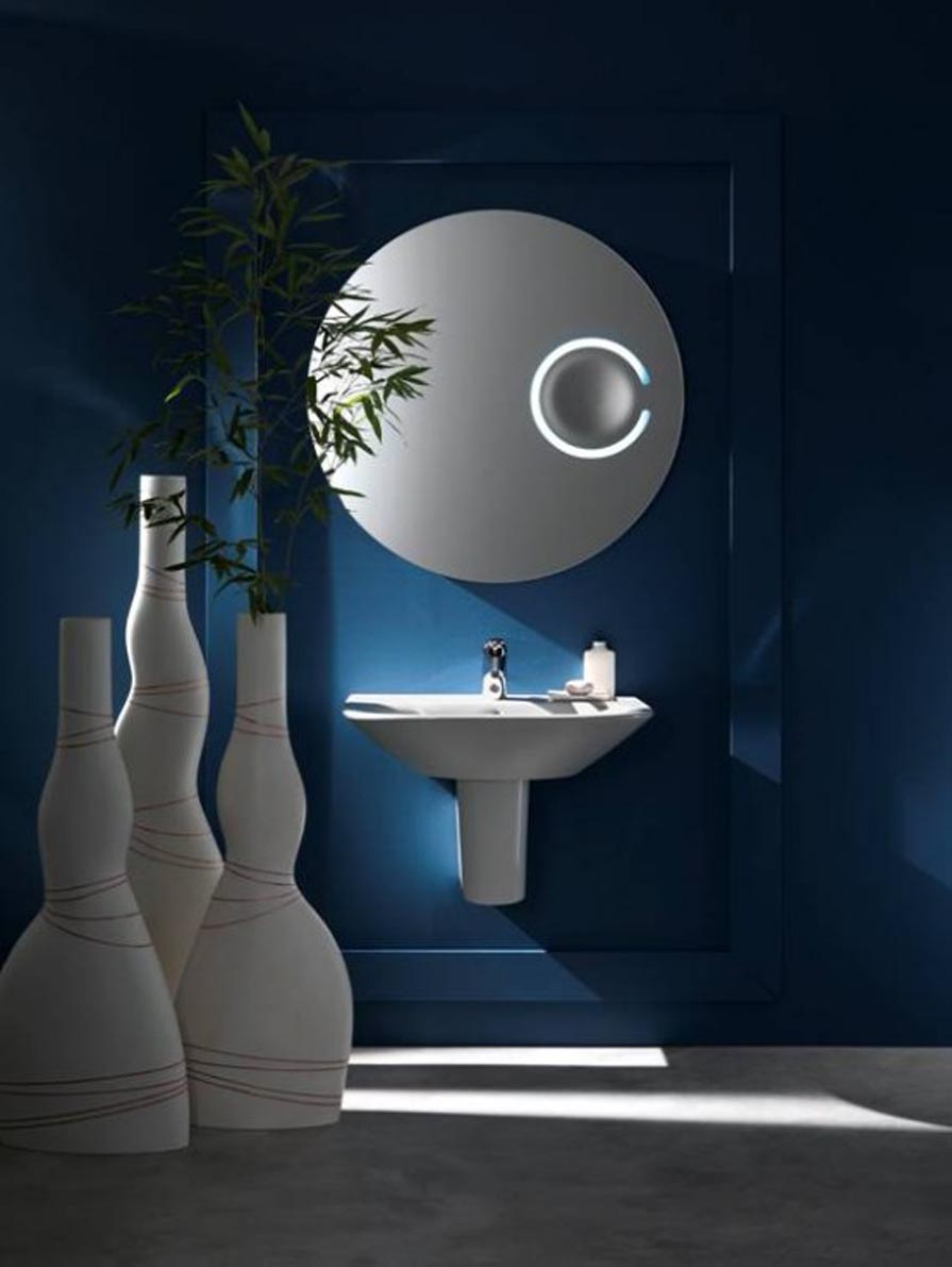 Cool bathroom mirrors best decor things for Cool bathroom decor