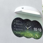 Cool looking digital clocks best decor things Cool digital wall clock