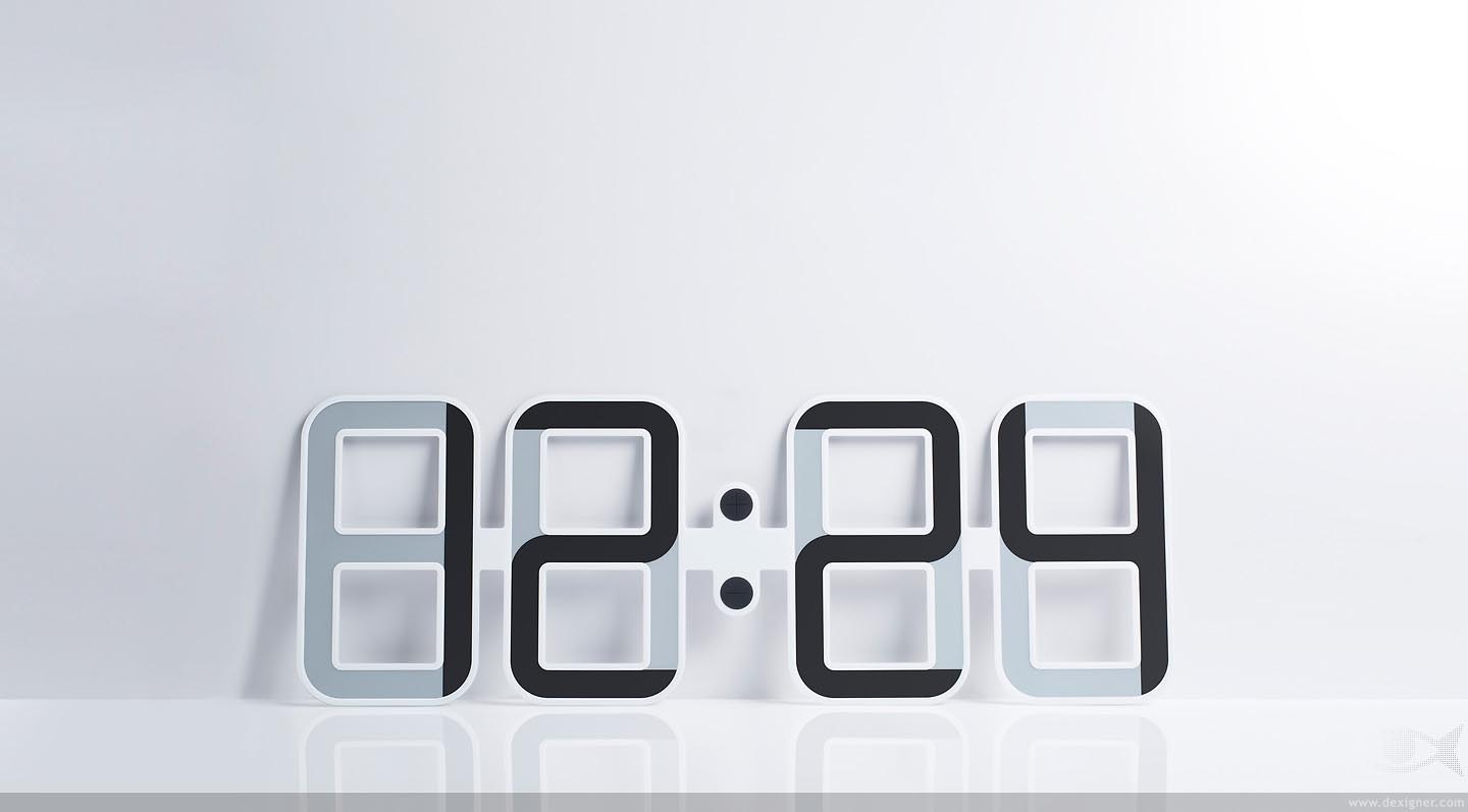 Cool Digital Wall Clocks Best Decor Things: cool digital wall clock