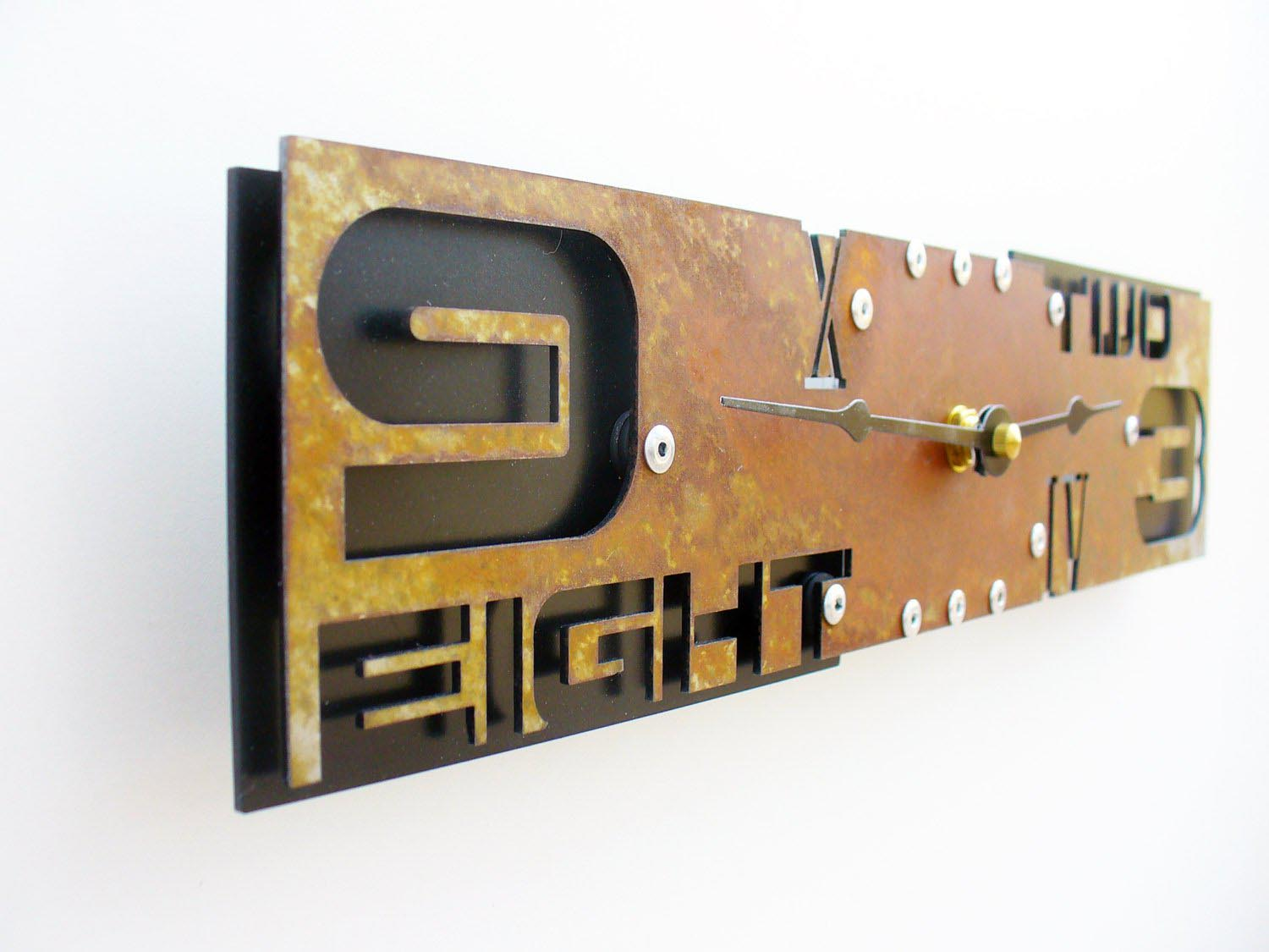 Cool Wall Clocks For Guys Best Decor Things