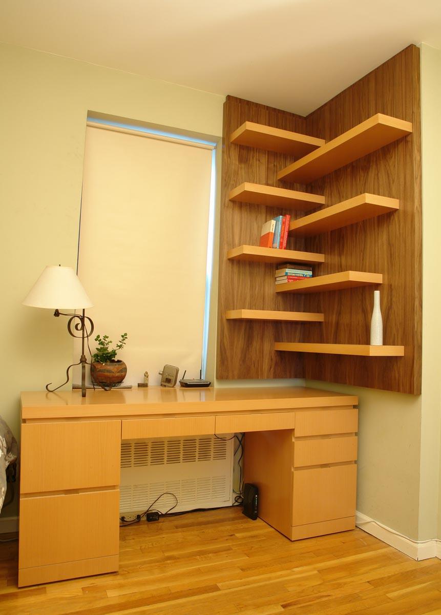 Corner Wall Mounted Shelves