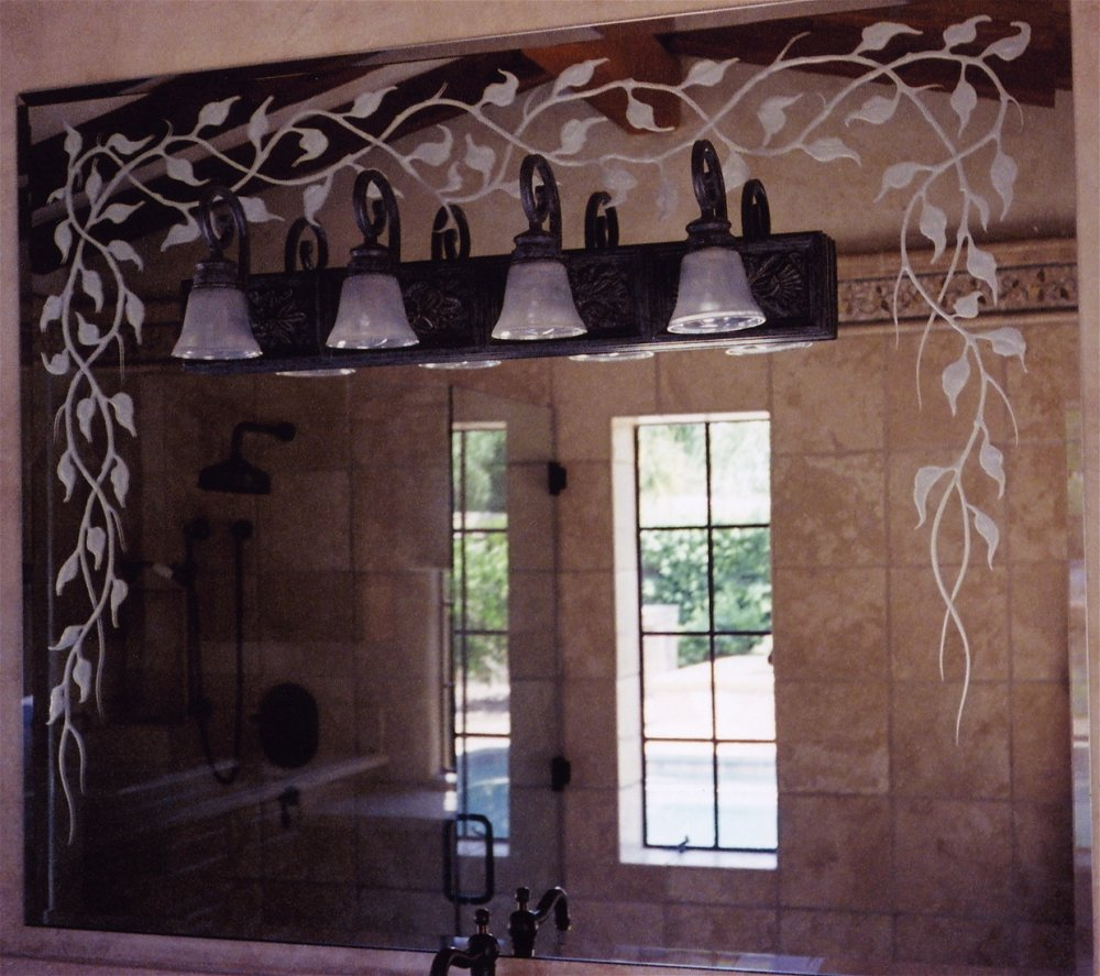 Custom Etched Mirrors