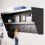 Decorative Black Wall Shelves