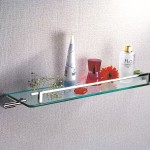 Decorative Glass Wall Shelves