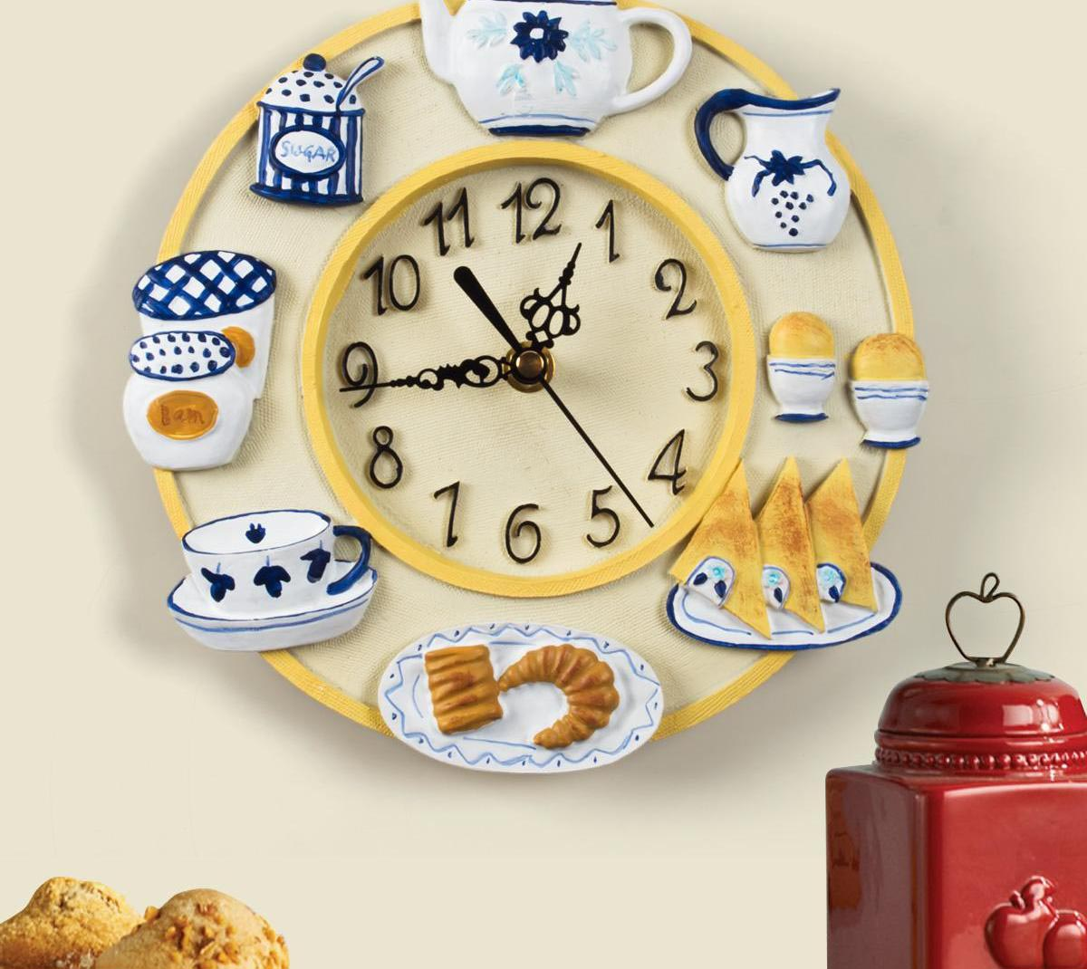 Decorative kitchen wall clocks best decor things decorative kitchen wall clocks amipublicfo Image collections