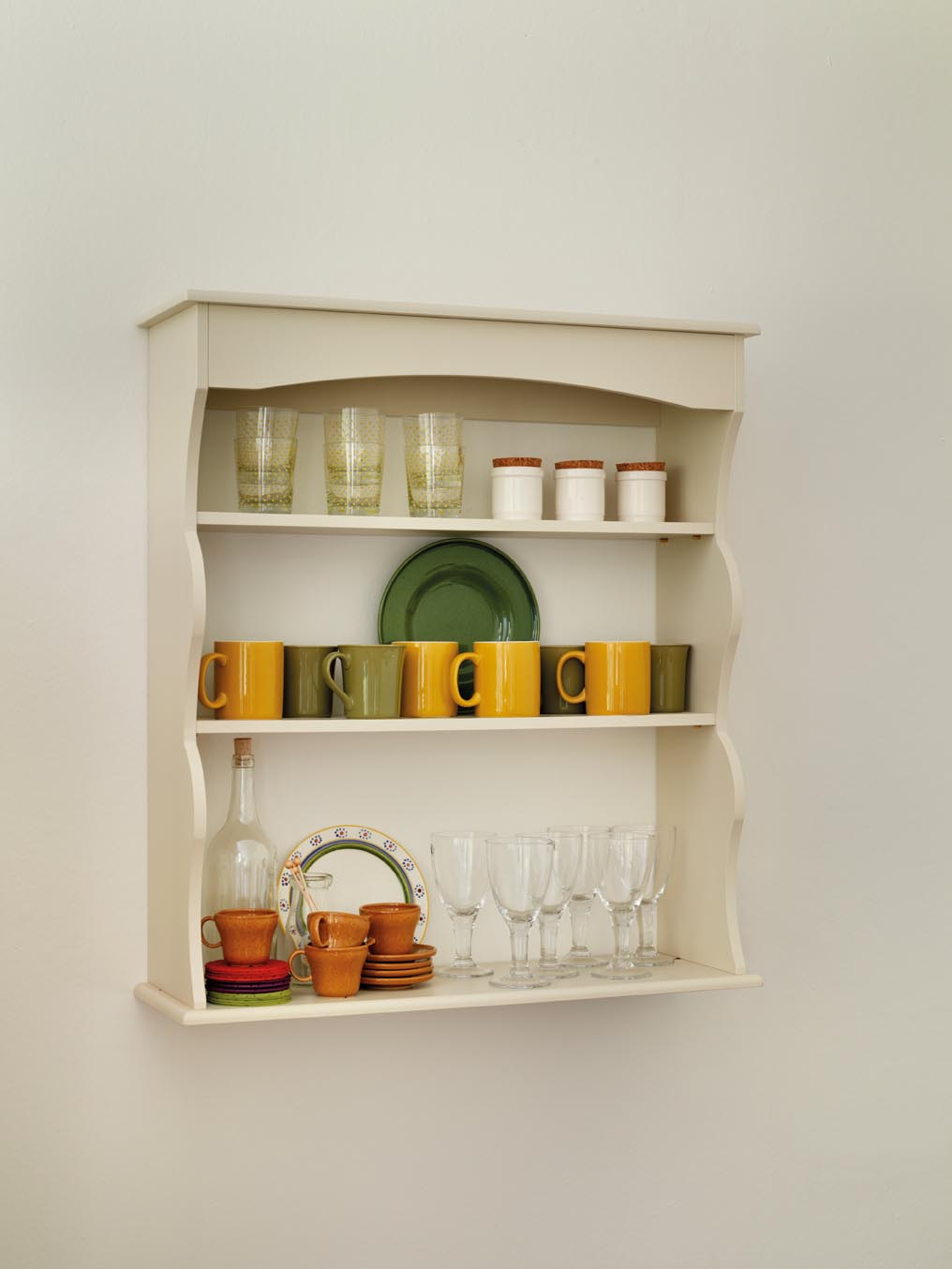 Decorative Kitchen Wall Shelves