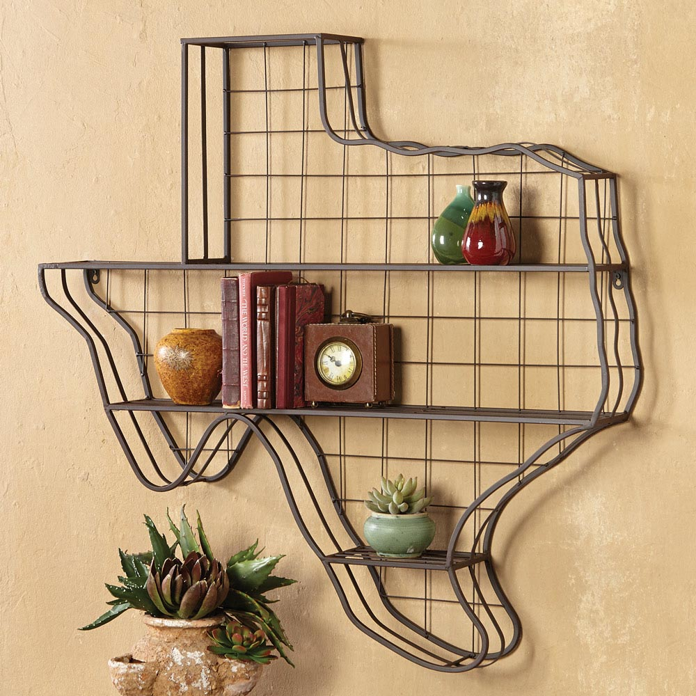 Decorative Metal Wall Shelves | Best Decor Things