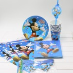 Decorative Paper Plates and Matching Napkins