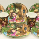 Decorative Paper Plates and Napkins