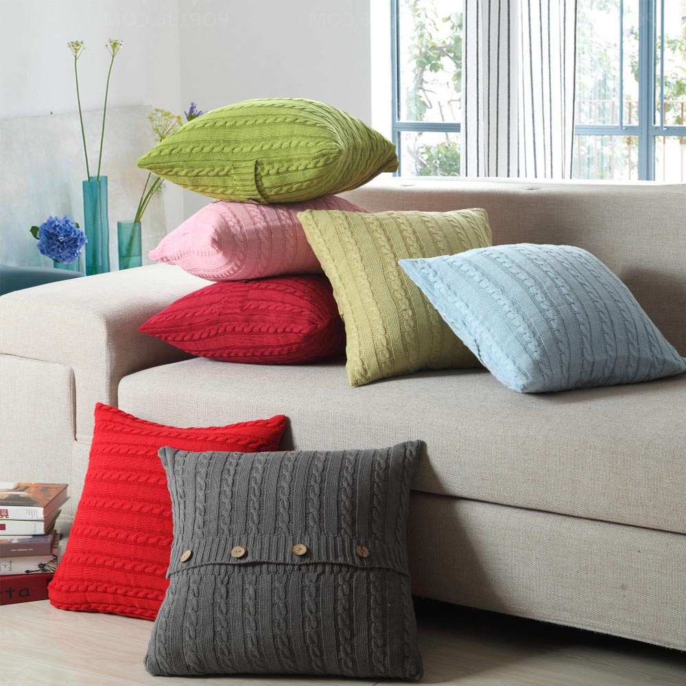 Throw Pillows Sectional : Decorative Throw Pillows For Sofa Best Decor Things