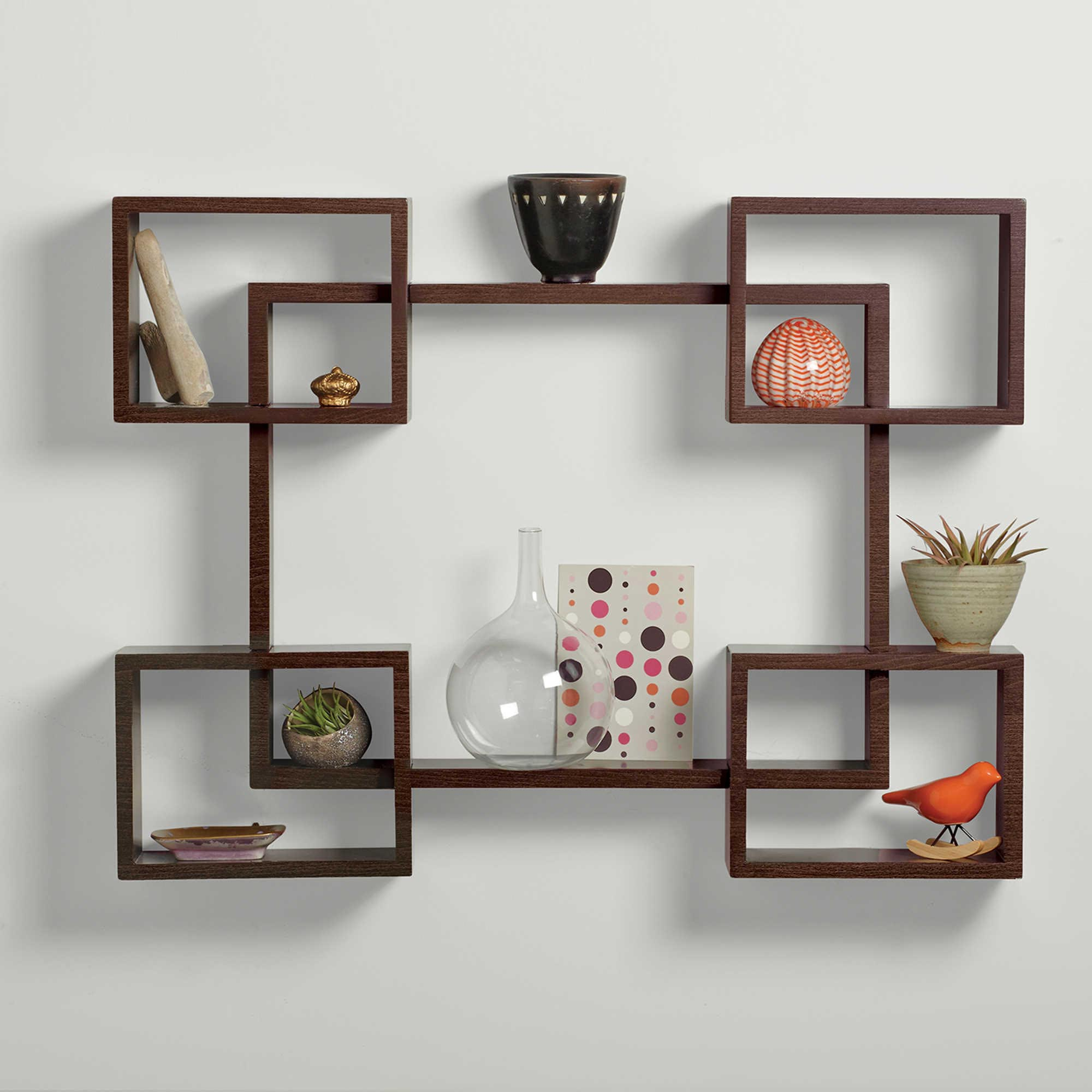 Decorative Woode Wall Shelves