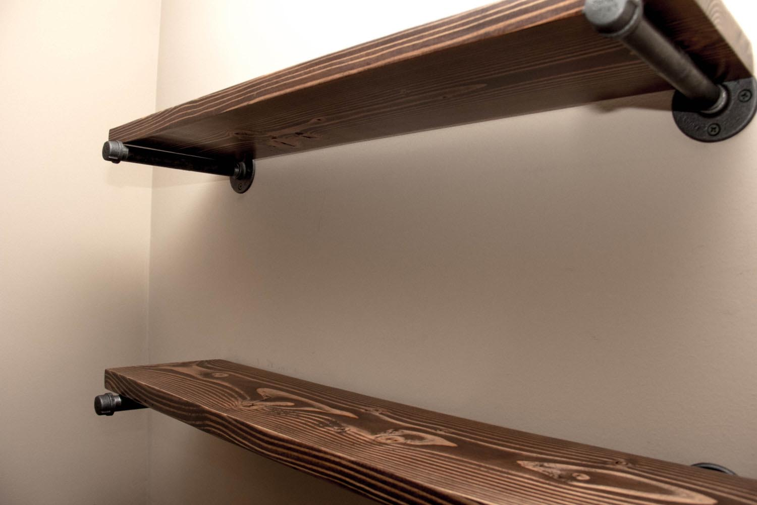 Deep Floating Wall Shelves