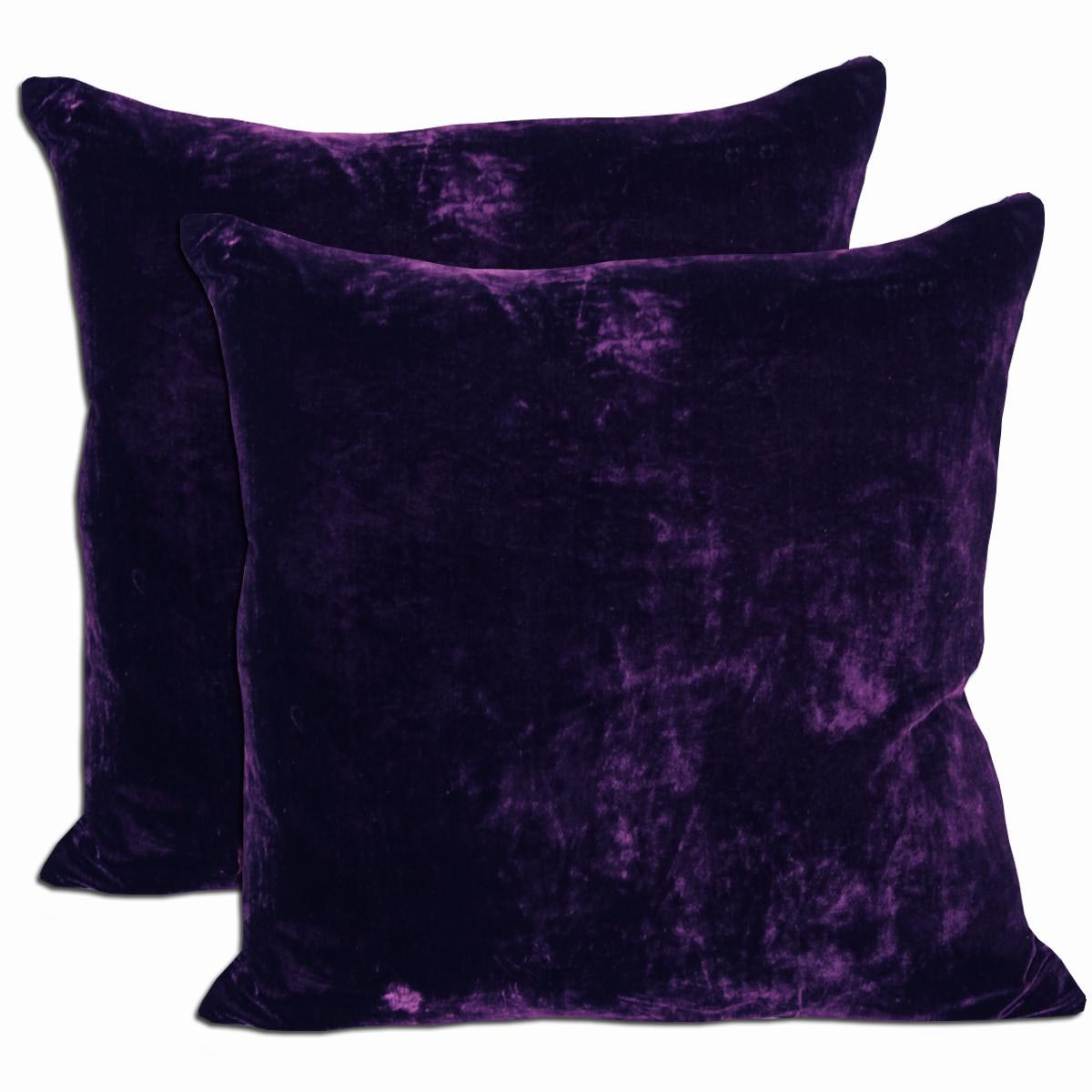 Purple Decorative Pillow : Deep Purple Throw Pillows Best Decor Things