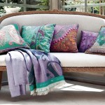 Designer Throw Pillows for Sofa