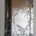 Etched Glass Mirrors Bathroom