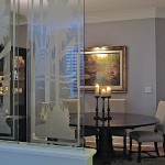 Etched Glass Room Dividers