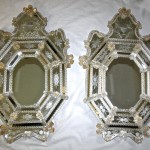 Etched Wall Mirrors