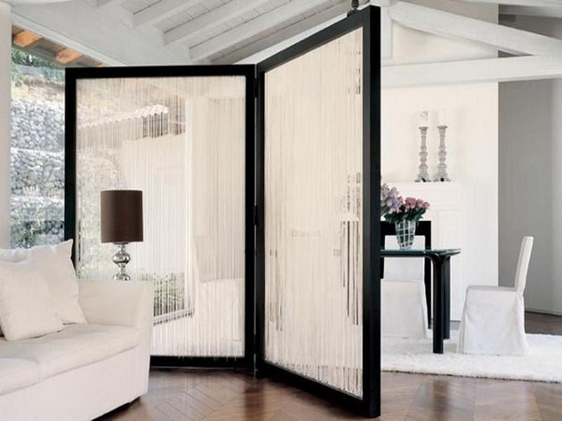 Fabric Room Dividers Hanging