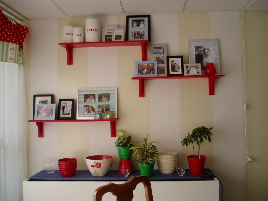 Floating Shelves for Picture Frames