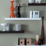 Floating Wall Shelves White