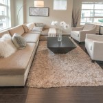 Fluffy White Area Rug