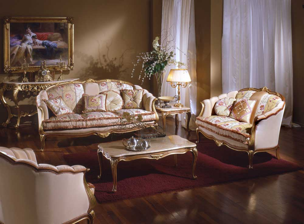 French Victorian Living Room Furniture