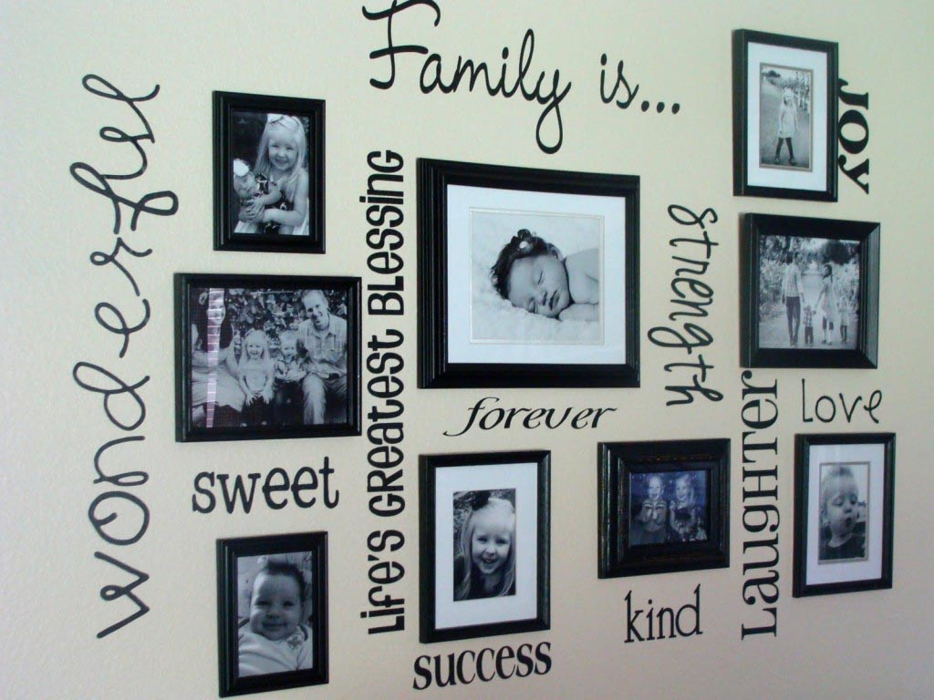 Gallery Picture Frames Wall Set