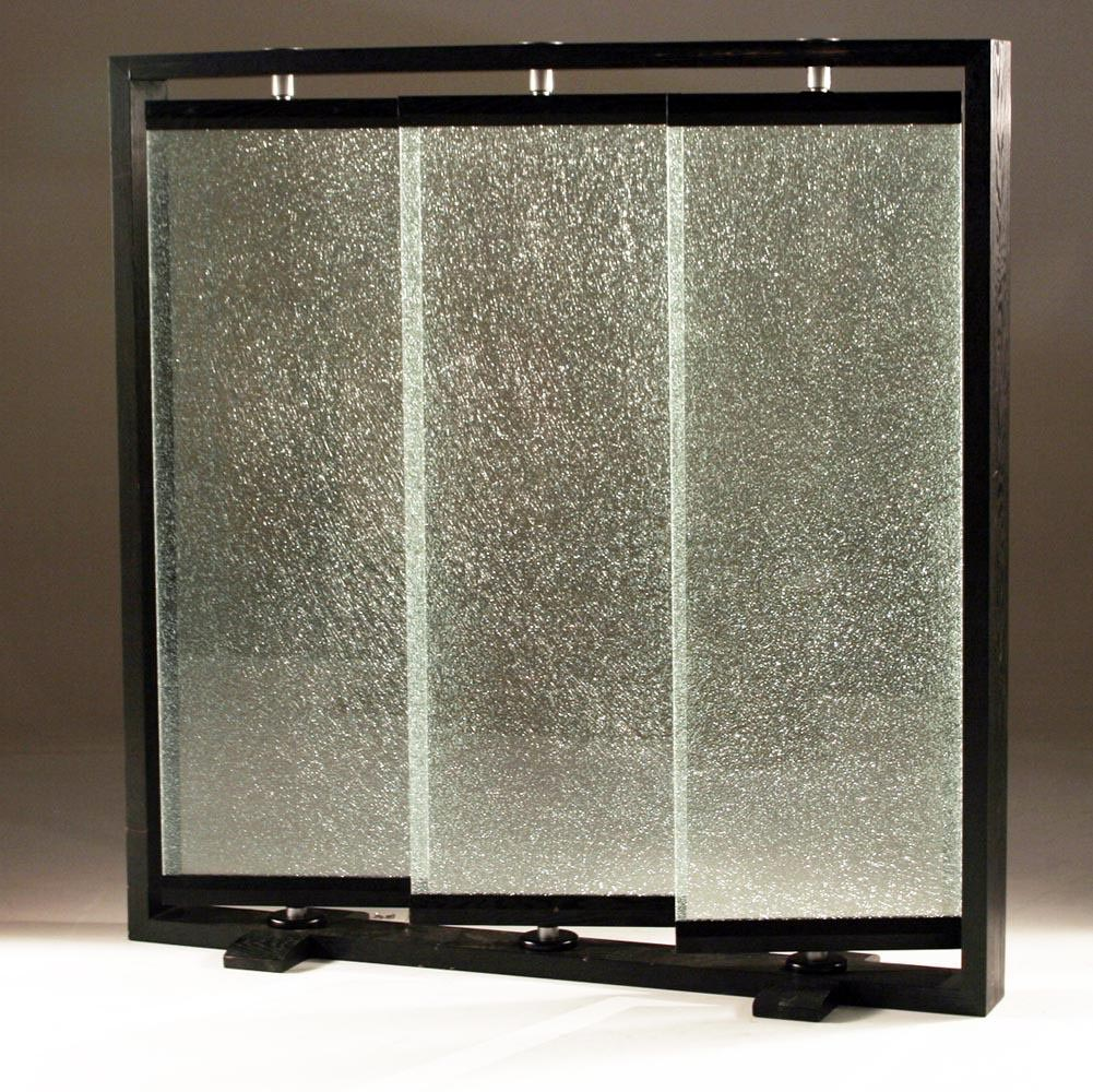 Glass Panel Room Dividers