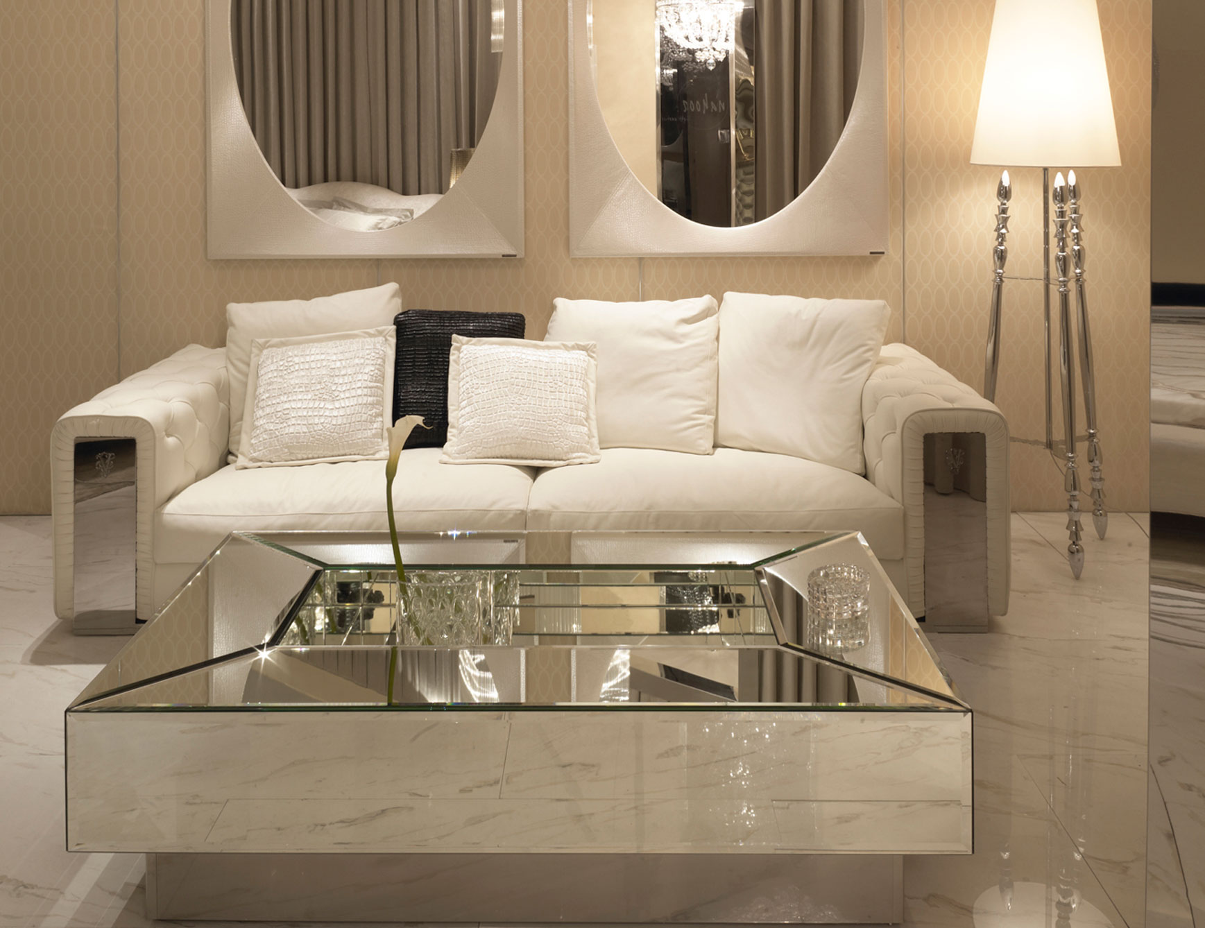 Glass Table Mirrors