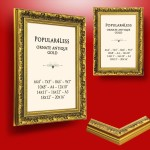 Gold Metal Picture Frames