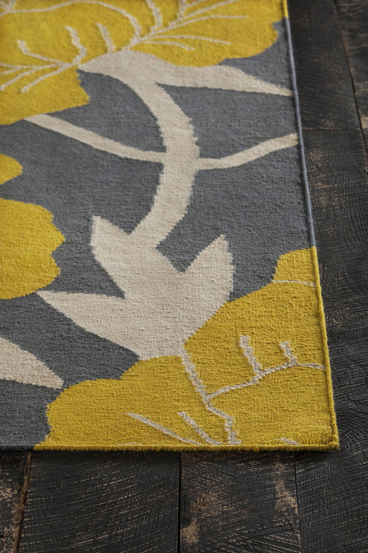 Gray Yellow Area Rug Best Decor Things