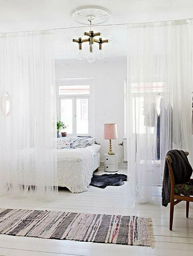 Hanging Room Dividers Ideas