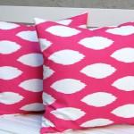 Hot Pink Decorative Pillows
