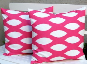 Hot Pink Decorative Pillows