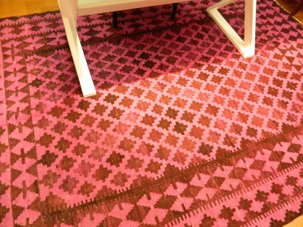 Hot Pink Kilim Rug