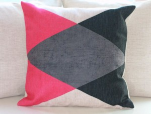 Hot Pink Pillow Covers