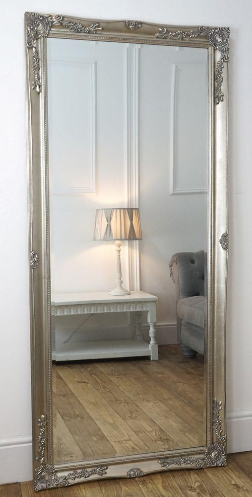 Large Decorative Floor Mirrors