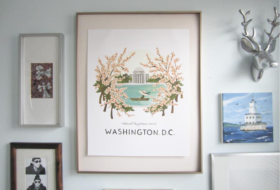 Large Floating Picture Frames