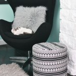 Large Floor Poufs